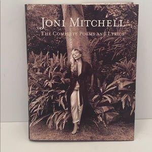 Joni Mitchell - The Complete Poems and Lyrics Book